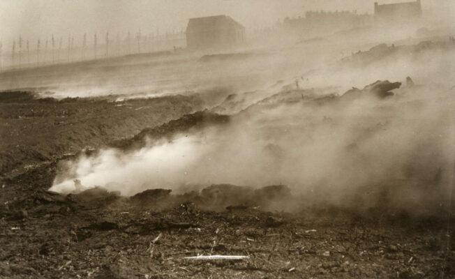 In mei 1917 brak er in Valthermond een enorme veenbrand uit.
