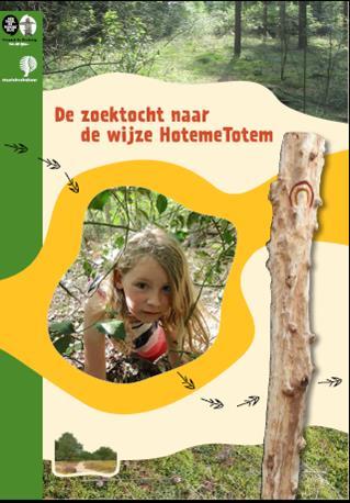 Via het beleefpad de Groene Veder kun je de Hoteme Totem vinden.